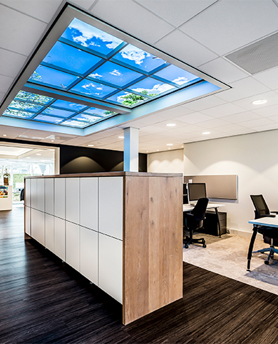 Wolkenplafonds OpenCeilings design